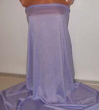 1 m Baumwoll Viskose Jacquard Jersey in uni english lavendel, lila