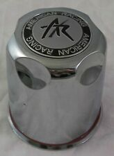 American Racing Chrome Custom Wheel Center Caps # 1327000 (1 CAP)
