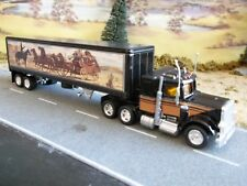 Matchbox Smokey and the Bandit Snowman Truck 1:80 Chrome Wheels / Metal Trailer