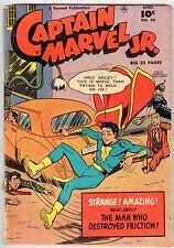 CAPTAIN MARVEL JR. No.84 Fawcett Publication April 1950 vintage comic G+