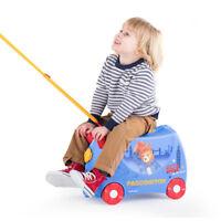 TRUNKI PADDINGTON RIDE ON KIDS SUITCASE BRAND NEW LUGGAGE PULL ALONG