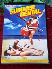 SUMMER RENTAL 80s John Candy Movie 1985 OOP Paramount DVD