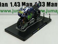 Moto Valentino Rossi LEO MODELS 1/18 : Yamaha YZR-M1 46 World Championship 2015