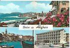190192 SASSARI ALGHERO - SALUTI da... VEDUTINE - GRAND HOTEL Cartolina