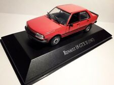 Renault 18 Gtx II 1987 1/43 Salvat Argentina our old cars collection