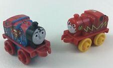 "Mini Thomas Flash Superman James Train and Friends Toy 2"" Miniature Mattel 2014"