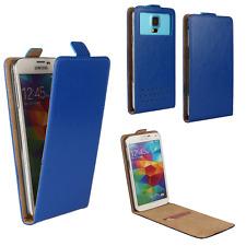 Handy Hülle | HUAWEI Ideos X3 | Flip Schutz Tasche | Flip Blau XS