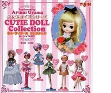 Yujin Ayumi Uyama Cutie Doll Collection Gashapon 6 Figures set