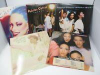 Lot of 5 Female R&B Soul LP Wholesale Sister Sledge, Pointer Sisters, Bobbi Hump