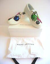 Marc Jacobs NIB Mercer Embellished White Slip On Sneaker Size 39 9 B Retail $350