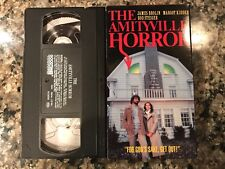 The Amityville Horror VHS! 1979 Horror! (See) Poltergeist & The Haunting