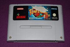 THE FLINTSTONES - Ocean - Jeu Plate-Forme Super Nintendo SNES FAH