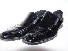 Men's Black Patent Calvin Klein Dress Loafers Sz 13M Save $$$$ Free Shipping USA