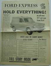 Ford Express No. 25 June 1961 Original UK Newspaper Magazine Thames Van Issue