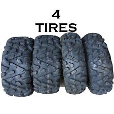 SET OF 4 KENDA K594 ATV TIRES 25-8-12 FRONT 25-10-12 REAR 2 OF EACH like bighorn