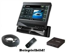 "Clarion ® Autoradio vz509e DVD CD mp3 USB Bluetooth 7"" - Panel + GPS Navi 1din"