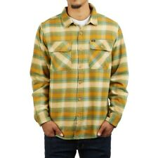 OBEY Men's SOUTH PASS Woven Flannel Shirt - GBR - Small - NWT