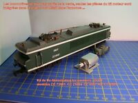 Kit de Re-Motorisation locomotives JOUEF CC 72001, CC 21004, CC 6505,CC 6551 HO
