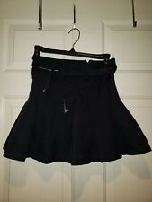 Girl's sz 10 Blue Skort Belted School Uniform by Us Polo Assoc