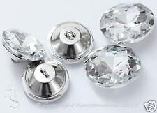 1 pieza Cristal Botón conOjete Estrás Cristal Piedra de la turquesa aprox. 25mm