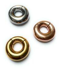 Túnel bollos Plug oreja piercing tribal c316l plata 8mm