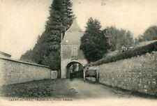 Carte BELGIQUE SAINT HUBERT Entrée de la Vieille Abbaye