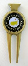 2019 Augusta National MASTERS BLACK BALL MARKER with MASTERS  DIVOT TOOL