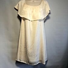 NWT Lily Rose Womens Cream Colored Dress Sz M Retails $48