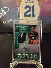 2016-17 Spectra Andrew Wiggins Global Icons 3-Color PATCH AUTO 5/5 eBay 1/1