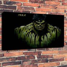 Portrait Incredible Hulk Art Print Oil Painting on Canvas Home Decor 16x24