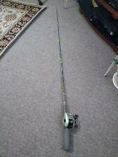 Fishing rod and reel combo baitcaster