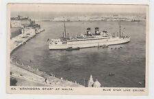 Malta Sea Transportation Postcard