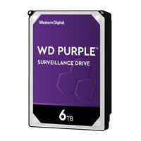 WD Purple 6TB HDD Hard Disk Drive 5400 RPM Class SATA 6 Gb/S 128MB Cache 3.5Inch