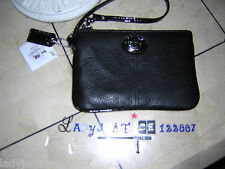 Coach Sutton leather small wristlet,  NWT
