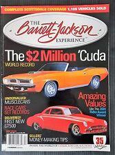 Barret Jackson Magazine 2006 - 1950 Futurliner - $2 Million Cuda - Ridler Winner