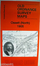 OLD Ordnance Survey Map Ossett North near Wakefield Yorkshire 1905  S248.01 New
