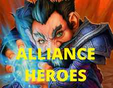 World of Warcraft WoW Tcg Every Alliance Hero (Complete List) Choose Your Cards!