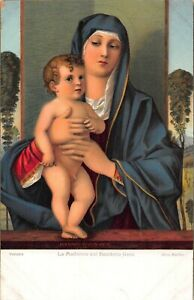 RELIGIOUS ART~LOT 5 BEAUTIFUL POSTCARDS~MADONNA-ABRAHAM-MAGDALENA-VIRGINE-BABY