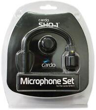 Cardo Mikrofonset Schwanenhals für SHO-1 Motorrad Helm Sprechanlage schwarz