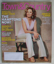 TOWN & COUNTRY May 2009 Jessica Lange Grey Gardens Bouvier Beale Jr.