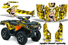 Can Am AMR Racing Graphics Sticker Kits ATV CanAm Outlander SST Decals 2012 MMY