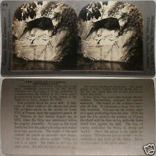 Keystone Stereoview Lion of Lucerne Statue, SWITZERLAND From 600/1200 Card Set