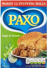 PAXO SAGE & ONION STUFFING MIX 2 x 170G