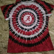 Tie-Dye Alabama Crimson Tide T-Shirt M-L