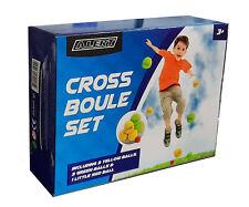 Alert Cross Boule Set 7-teilig Kinder Spiel Krocket Wurfspiel Garten Spielset
