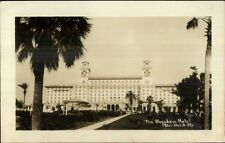 Palm Beach FL The Breakers c1920s-30s Real Photo Postcard