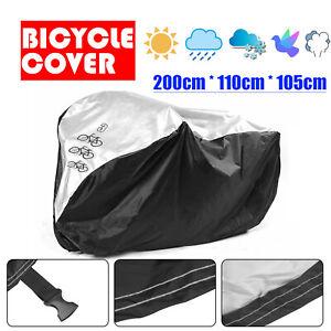 3 Bicycle Waterproof Rust  Bike Cycle Cover Waterproof Anti Rain UV Protection