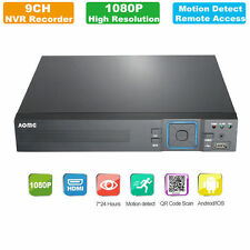 1080P 9CH DVR NVR Cloud Network Video Recorder Home Security System Standalone