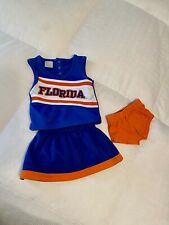 florida gators cheerleading outfit 12 month