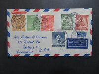 Germany 1953 Berlin Cover w/ ALL Better Issues - Z9441